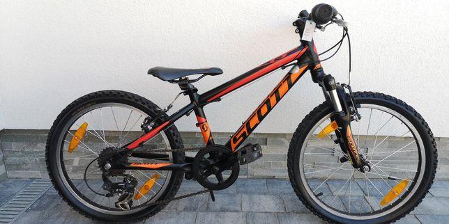Przepiękny rower Scott dla dziecka ok 4-7lat koła 20 cali stan BDB