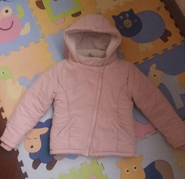 Зимняя куртка на девочку, 3-4 года Киев - изображение 1