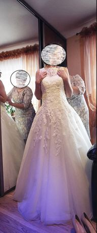 Piękna suknia ślubna Justin Alexander 8630. Stan idealny