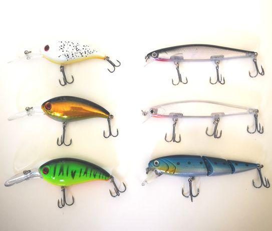 Conjunto de 3 amostras pesca