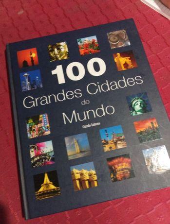Livro 100 grandes cidades do mundo