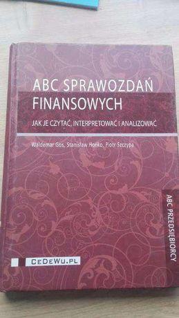 ABC Sprawozdań finansowych. W. Gos, S.Hońko, P. Szczypa