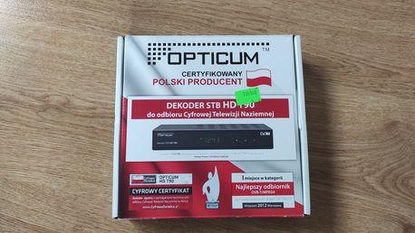 Nowy dekoder do odbioru telewizji Opticum