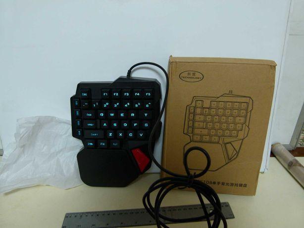 Игровая клавиатура K108 с подсветкой.