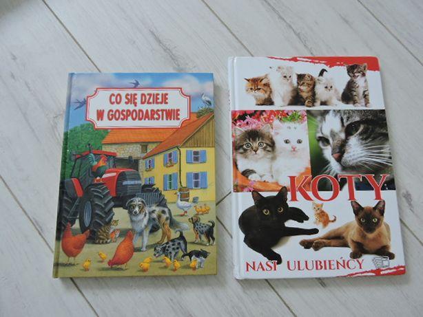 Książki 2 sztuki sztywne okładki