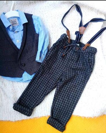 джинсы штаны брюки рубашка куртка жилетка на мальчика, рост 92, 98см