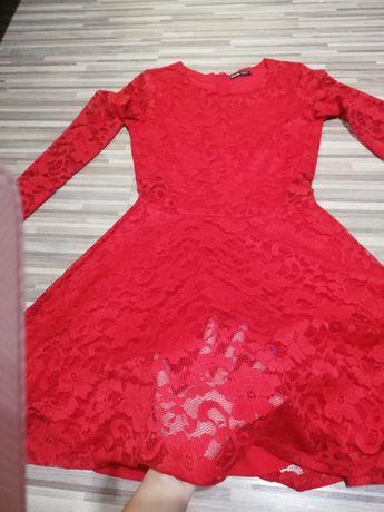 Sukienka z koronki croop
