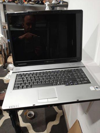 Laptop Medion 17 cali 2 x 1.5ghz/4gb/320gb geforce 8600 hdmi dvd gw