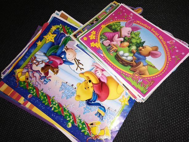 Karteczki - Disney, kolekcja świąteczna, witch, winx, zwierzęta