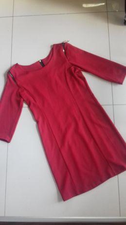 Sukienka mini czerwona roz.M
