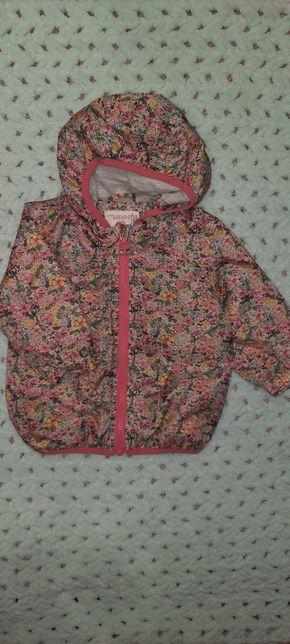 Продам весеннюю  курточку дождевик Next Carters Zara на девочку весна