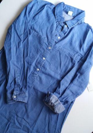 Джинсовое платье-рубашка Old Navy, р. S