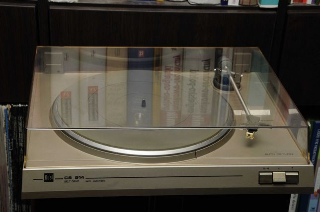Gramofon DUAL CS 514 - Super stan ! Karton ! 1984 r.