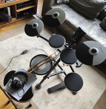 Roland TD-1KV - Perkusja Elektroniczna+Stołek+Pałki+Słuchawki
