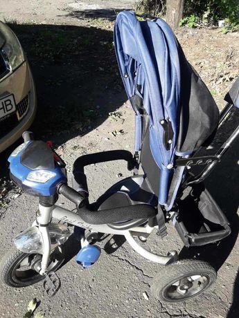 Продам детский велосипед с родительской ручкой