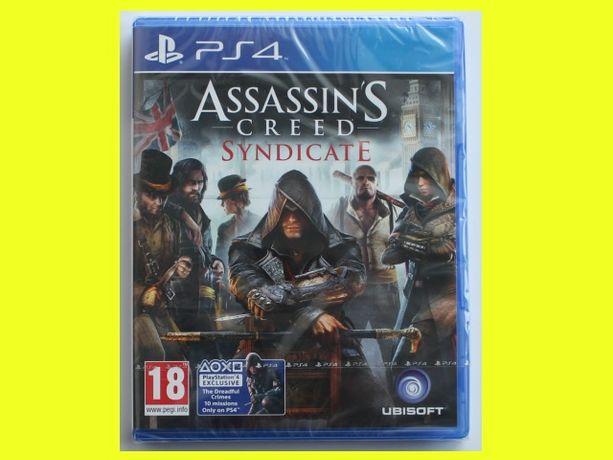 #folia# Assassins Creed Syndicate PS4 wersja PL nowa