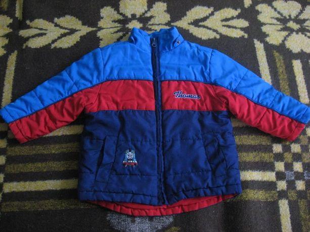 Куртка демисезонная на мальчика рост 86-92