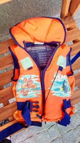 Colete salva vidas super seguro para criança