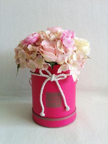 FLOWER BOX sztuczne kwiaty na prezent