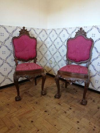 Conjunto de 2 cadeiras D. João V