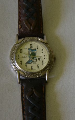 Zegarek z motywem country &western