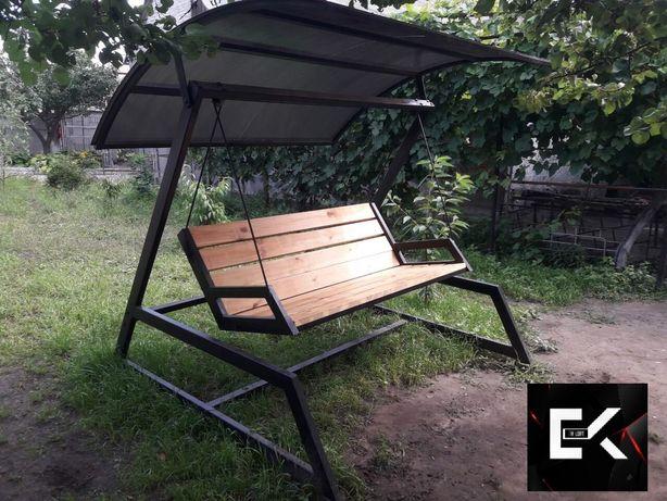 качели лавочки садовая дачная парковая мебель loft изготовлени