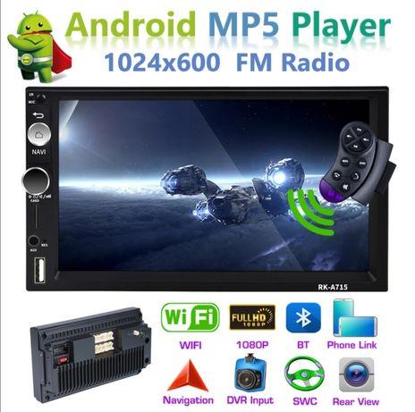 Radio samochodowe 2din Android 8.1 Gps WiFi tablet ekran dotykowy