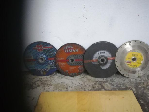 4 discos de corte