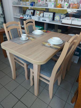 Stół z krzesłami super cena