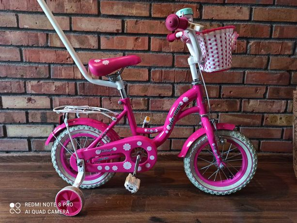 """Rower dla dziewczynki 12"""""""