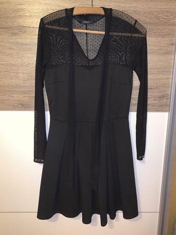 Czarna sukienka Mohito