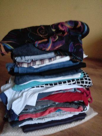 Duża paka ubrań damskich LETNIE