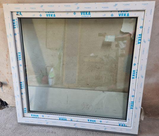 Okno PCV Wiśniowski - nowe - 3 szyby - 1450x1380