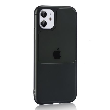 TEL PROTECT Window Case > Iphone 12 Pro Max Czarny