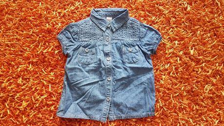 OFERTA PORTES - Camisa de Ganga Manga Curta da Zara (2-3Anos)