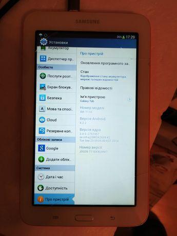 Samsung Galaxy Tab 3 Lite (SM-T110) + тачскрін