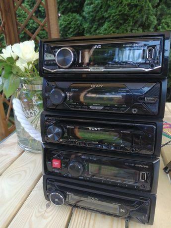 Radio samochodowe Sony, Alpine, JVC, Kenwood bluetooth AUX CD USB