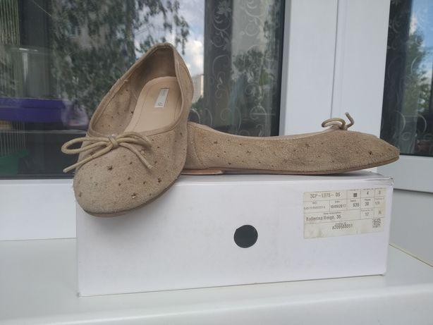 Замшевые туфли H&M