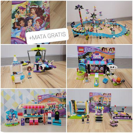Lego friends Park rozrywki OKAZJA +MATA DO ZABAWY GRATIS!