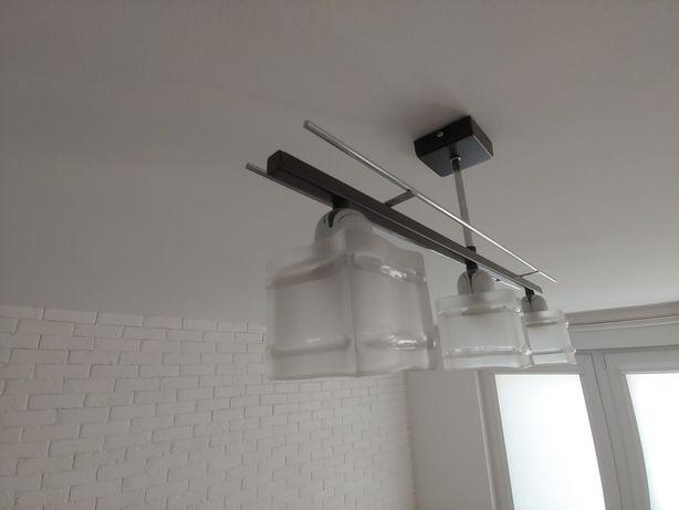 Lampa sufitowa na 3 zarówki
