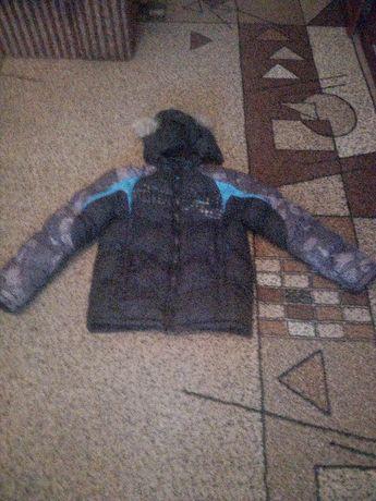 Куртка зимняя 10-12 лет