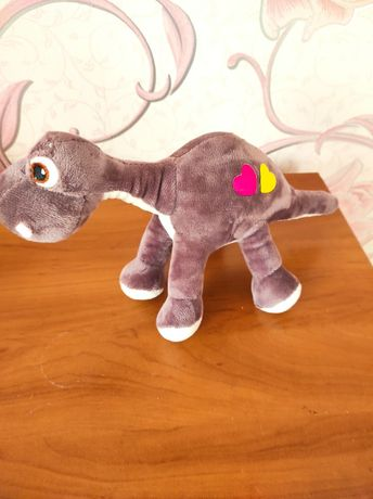 Мяка іграшка динозавр