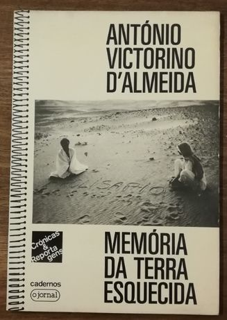 memória da terra esquecida, antónio victorino d`almeida