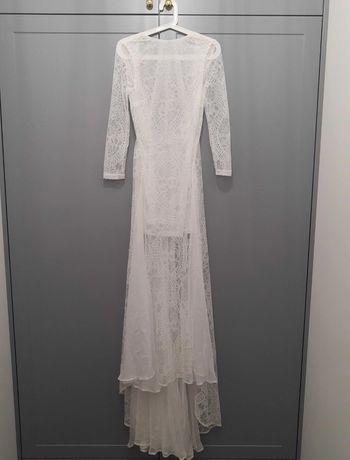 Nowa sukienka ślubna w stylu Boho