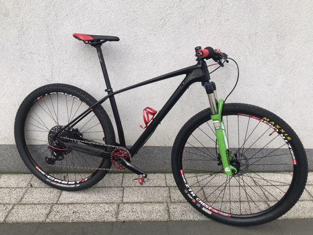 Rower mtb xc wyścigowy carbon składany sram x01 GX 12 s superior orbea