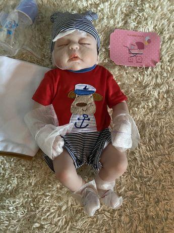 Boneco Bebe Reborn Menino 6meses