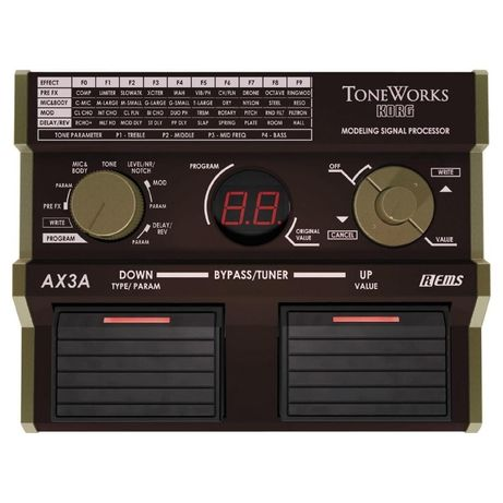 Гитарный Процессор KORG AX3A (Для акустики)