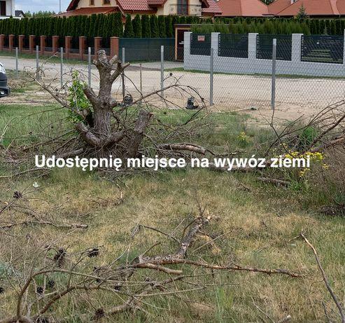 Udostępnię miejsce na wywóz ziemi Osielsko lokalizacja Osiedle Willowe