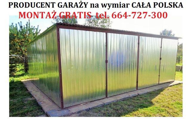 Garaże blaszane Garaż blaszany Blaszak Blaszaki Cała Polska RATY tanio