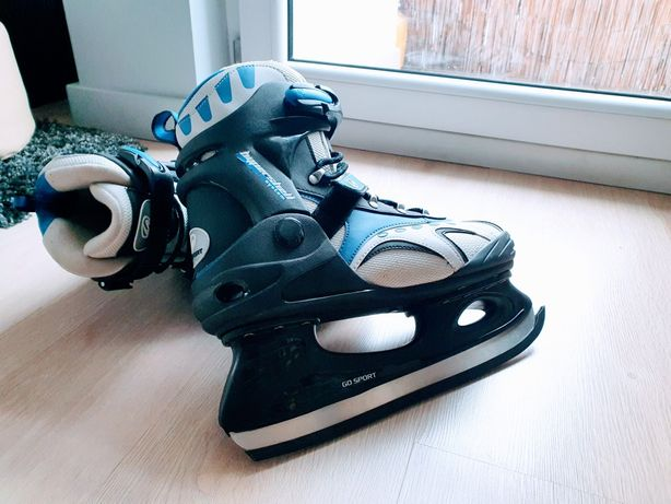 Łyżwy hokejowe GoSport ICE 056, rozm. 42, stan b. dobry